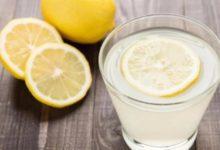 صورة تعرف على فوائد شرب الماء والليمون على معدة فارغة