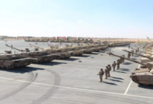 صورة انطلاق أكبر تدريب عسكري عربي مشترك في مصر