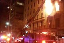 صورة السيطرة على حريق نشب في أقدم قصور العصر الذهبي في نيويورك