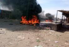 صورة بالفيديو..لحظة هروب الشرطة السودانية من المحتجين في الخرطوم