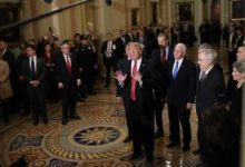 صورة نوبة غضب وانسحاب.. تفاصيل اجتماع ترامب والديموقراطيين في البيت الأبيض لبحث الإغلاق الحكومي