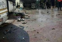 صورة قتلى وجرحى في تفجير إرهابي بالعاصمة السورية دمشق