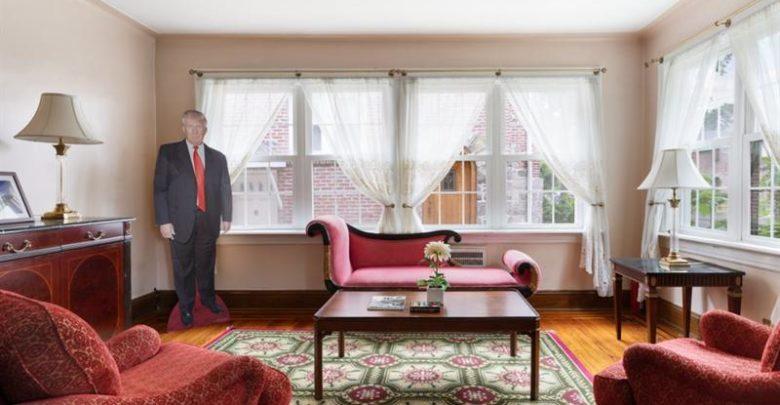 """صورة بالصور.. عرض منزل طفولة """"ترامب"""" في نيويورك للبيع وهذا سعره"""