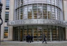 صورة محكمة بروكلين تعلق مداولات قضية أخطر مهرب مخدرات في العالم