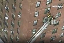 صورة إصابة 5 أطفال إثر نشوب حريق في مبنى سكني ببرونكس
