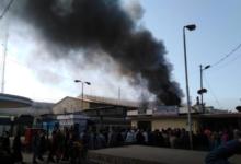 صورة بالفيديو والصور.. حريق هائل بمحطة قطار مصر وسقوط ضحايا