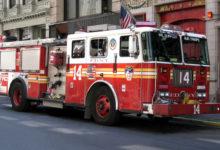 صورة بالفيديو.. إصابة 14 شخص في حريقين منفصلين بمانهاتن وكوينز