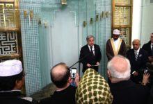 صورة الأمين العام للأمم المتحدة يزور مسجدا في نيويورك ويطلق دعوة عالمية