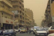 صورة حريق هائل في قصر الرئاسة السوداني