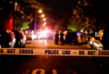 صورة مقتل راكبة دراجة هوائية صدمتها شاحنة في أحد شوارع بروكلين