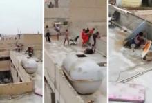 صورة بائعات الهوى يقفزن من أسطح المباني.. شاهد لحظة مداهمة مباحث الآداب وكر رذيلة في الكويت