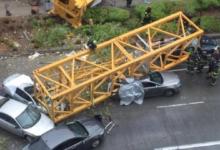 صورة مقتل 4 أشخاص إثر سقوط رافعة بناء في واشنطن