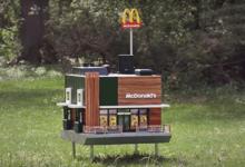 صورة ليس للبشر.. ماكدونالدز تفتتح أصغر فرع في العالم