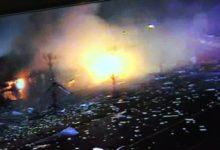 صورة قتلى ومصابين في انفجار كبير بمصنع للمواد الكيميائية بولاية إلينوي