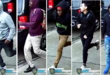 صورة بالفيديو.. عصابة تعتدي بالضرب على رجل في شارع ببروكلين لسرقة محفظته