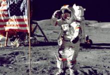"""صورة مزاد في نيويورك يبيع لقطات لخطوات """"أرمسترونغ"""" على سطح القمر.. كم سعرها؟"""