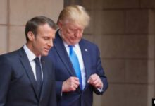 صورة ترامب يندد بـ«غباء» ماكرون ويهدد بفرض ضريبة على النبيذ الفرنسي