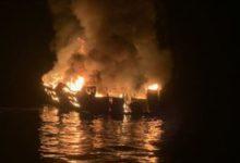 صورة قتلى ومفقودون في حريق زورق بكاليفورنيا