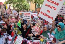 صورة مجلس كشمير ينظم تظاهرة أمام مقر الأمم المتحدة بنيويورك
