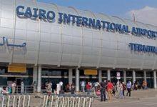 صورة وفد أمني أمريكي في مطار القاهرة للتفتيش على رحلات مصر للطيران المتجهة لنيويورك