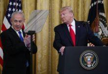 صورة بعد إعلانه صفقة القرن.. ترامب يغرد باللغة العربية عن «دولة فلسطين المستقبلية»
