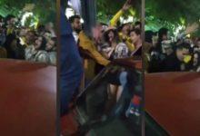 صورة فيديو صادم لتحرش جماعي بفتاة في مصر ليلة رأس السنة