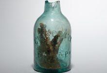 صورة العثور على «زجاجة ساحرة» لدرء الأرواح الشريرة في فرجينيا