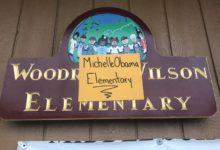 صورة اطلاق اسم ميشيل أوباما على مدرسة بولاية كاليفورنيا
