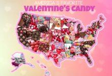 صورة ماهو نوع الحلوى التي يفضلها سكان نيويورك في عيد الحب؟