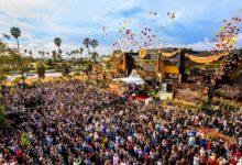 صورة غضب عارم لمسئولي كاليفورنيا بسبب إطلاق كنيسة لمئات البالونات احتفالا بافتتاحها