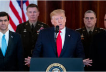 صورة ترامب يعلن نيويورك «منطقة كوارث»