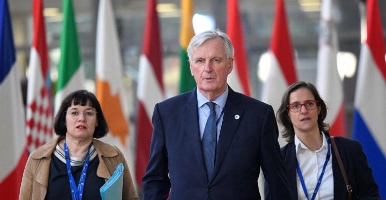 صورة إصابة كبير مفاوضي الاتحاد الأوروبي ميشيل بارنييه بفيروس كورونا