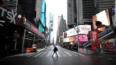 صورة نيويورك تغلق ساحة تايمز سكوير أمام احتفالات ليلة رأس السنة