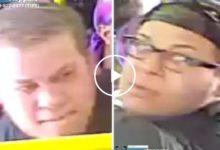 صورة بالفيديو.. رجل يتخلى عن إنسانيته وينهال بالضرب على مسن داخل حافلة ببرونكس