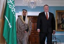 صورة وزير الخارجية الأمريكي لنظيره السعودي: «اليمن غير المستقر» لا يفيد إلا النظام الإيراني