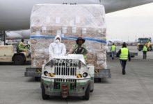 صورة ووهان الصينية ترسل مساعدات طبية إلى نيويورك