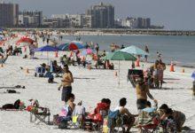 صورة بالفيديو والصور.. ولاية فلوريدا تعيد فتح الشواطئ والمطاعم والمقاهى