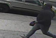 صورة رجل يتعرض لإطلاق نار وطعن في أحد شوارع بروكلين