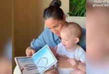 صورة بالفيديو.. ميجان ماركل تحتفل بعيد ميلاد ابنها أرتشى والعائلة المالكة تهنئ