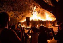 صورة إعلان الطوارئ واستدعاء الحرس الوطني للسيطرة على احتجاجات مينيسوتا..40 صورة ترصد الوضع هناك