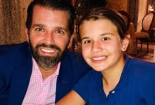 صورة ابن دونالد ترامب يحتفل بعيد ميلاد ابنته الكبرى: لا أصدق أنك أصبحتى مراهقة