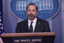 صورة وزير الصحة الأمريكى: النافذة ستغلق أمامنا للسيطرة على كورونا بالولايات المتحدة