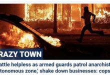 صورة «سي إن إن»: فوكس نيوز نشرت صورًا مفبركة حولت مظاهرة سلمية إلى عنيفة وخطيرة