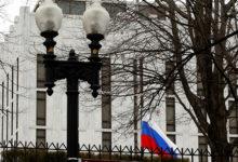 صورة السفارة الروسية في واشنطن تهاجم الخارجية الأمريكية بسبب «ليبيا»