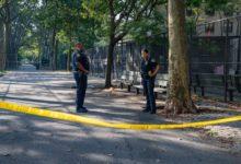 صورة وفاة رجل بعد تعرضه لإطلاق نار في ملعب بمانهاتن