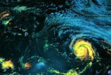 صورة العاصفة الاستوائية «Sam» تتشكل في المحيط الأطلسي وتوقعات بتحولها لإعصار كبير