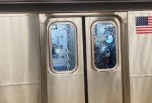 صورة الشرطة تقبض على مشتبه به في حوادث تكسير نوافذ قطارات مترو نيويورك