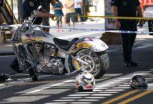صورة مقتل شخص وإصابة آخر في حادث تصادم دراجتين بخاريتين في كوينز