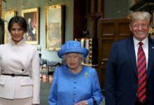 صورة صحيفة بريطانية : الملكة إليزابيث رفضت طلب ترامب النوم في قصر «باكنغهام» الملكي