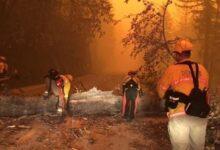 صورة بالفيديو والصور.. خسائر فادحة بسبب اشتعال أكثر من 100 حريق فى 5 بلدات بولاية أوريجون